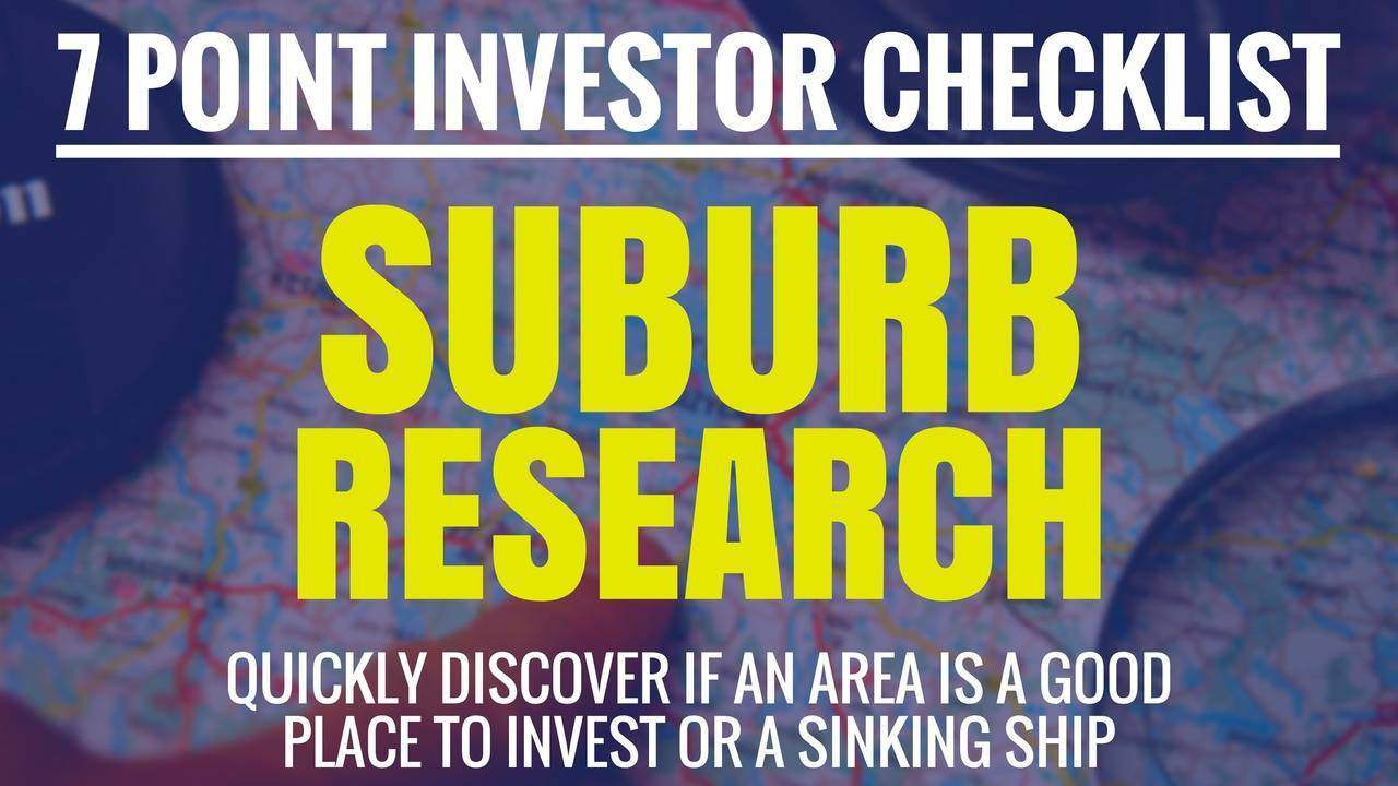 Suburb Research