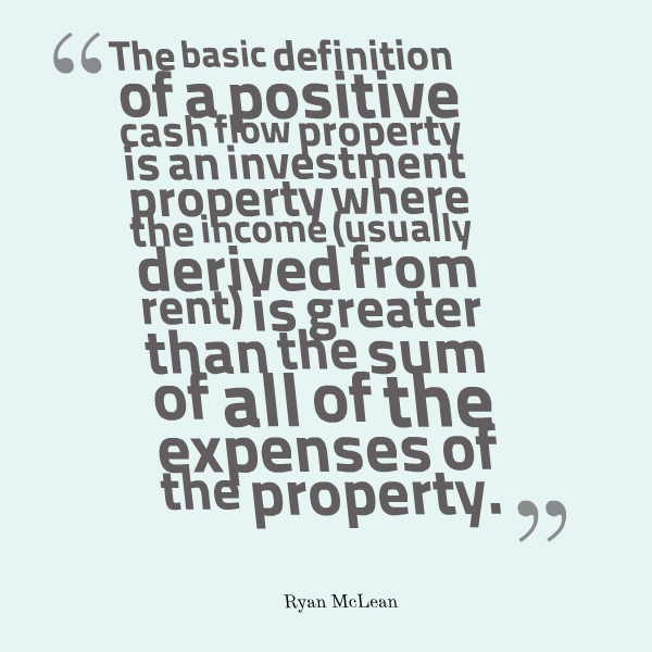 definition of positive cash flow property
