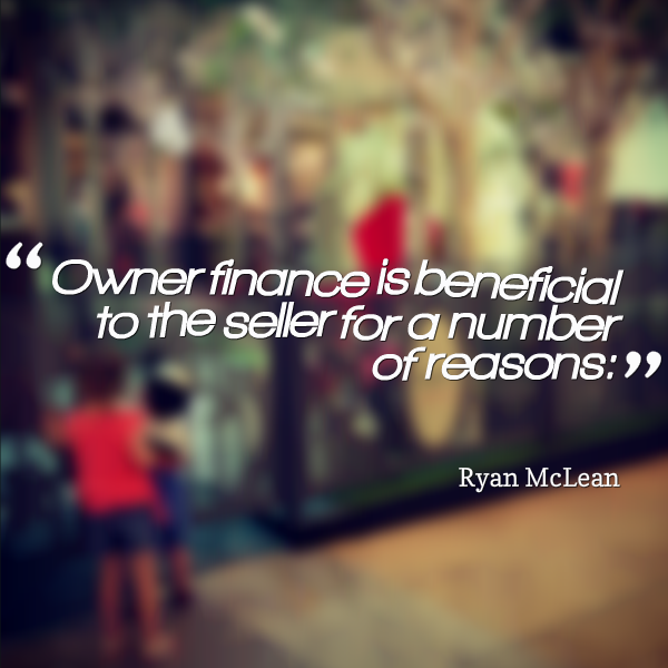 owner finance is beneficial