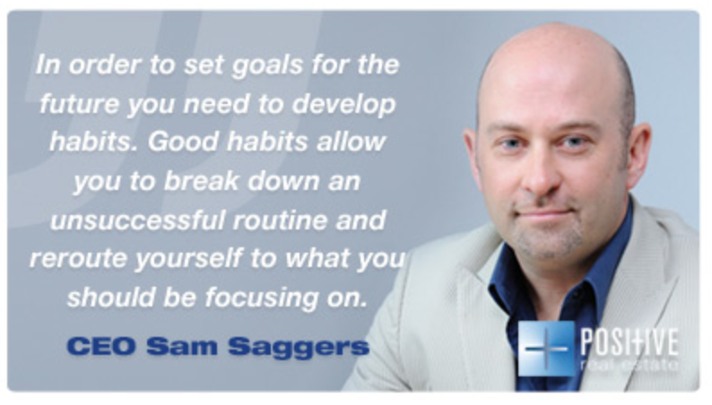 Positive Real Estate Blog Quote - Sam Saggers