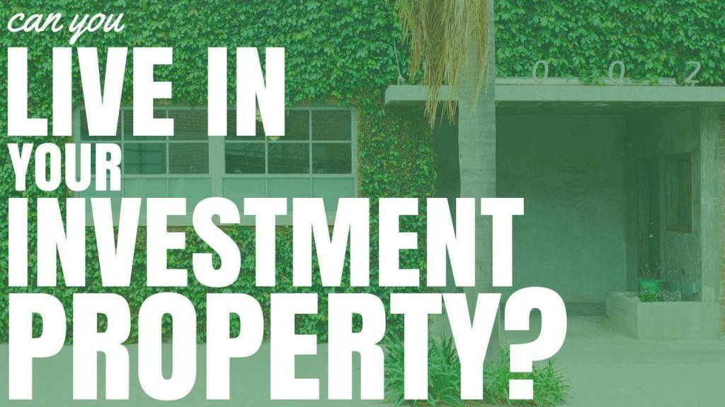 Can you live in your investment property veronica campbell brown 10-86 investments