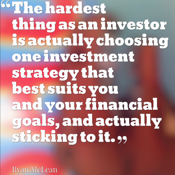 choosing your investment strategy