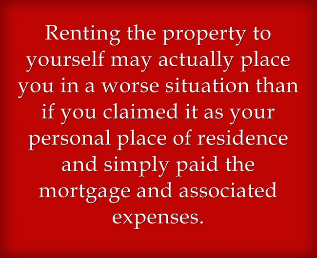 rent your own investment property