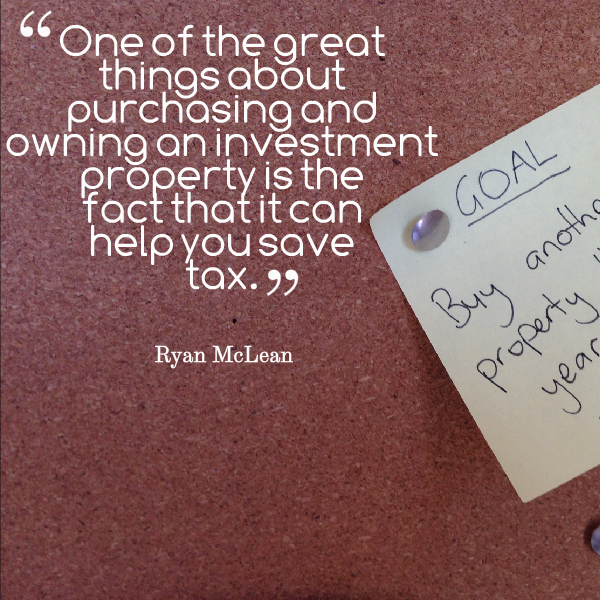 saving tax on investment property
