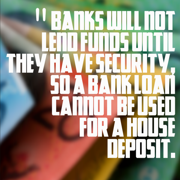 bank loan cannot be used for a loan depoist