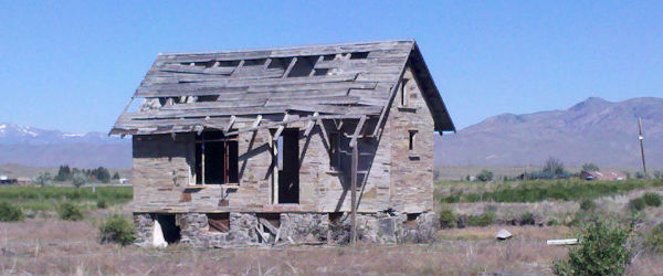 Run down houses (when done up) can deliver a positive cash flow return