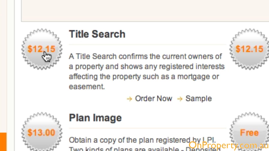 Land Title Search