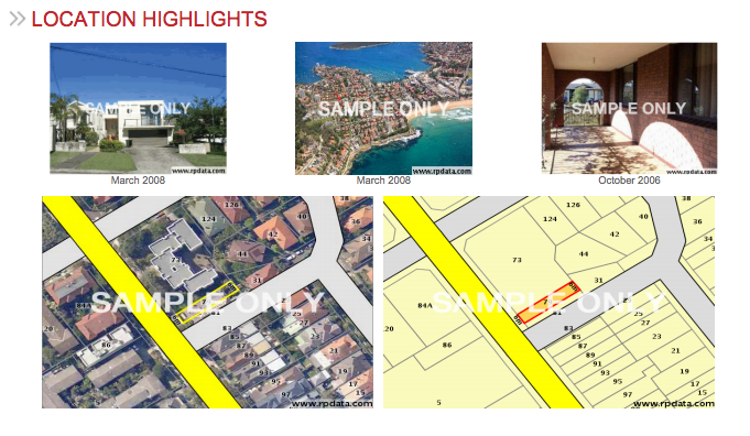 Location Highlight Examples