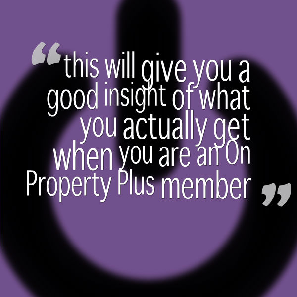 Insight Into On Property Plus