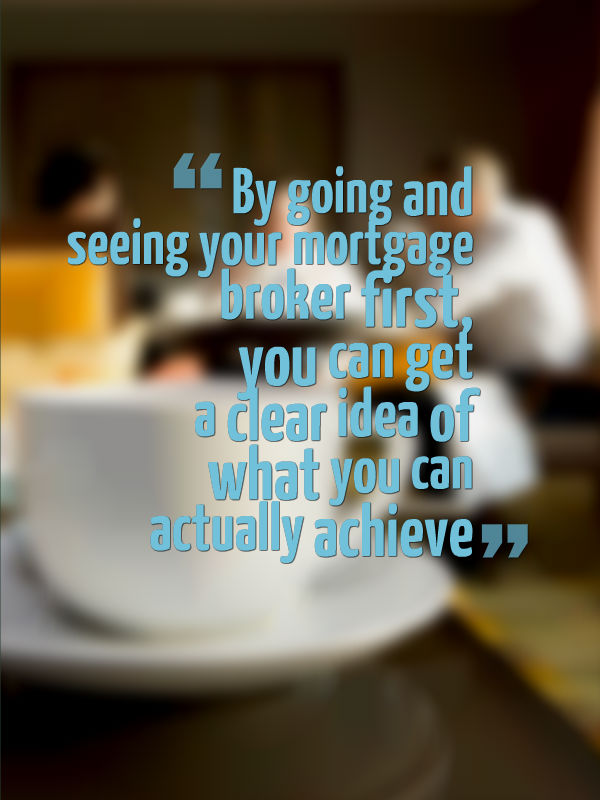 See A Mortgage Broker