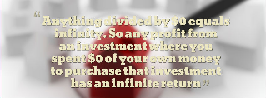 Infinite Return On Investment Explained