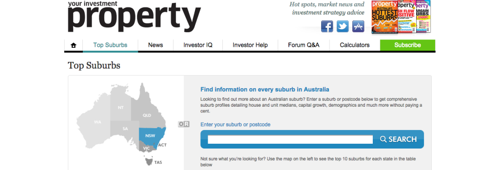 yourinvestmentpropertymag.com:top-suburbs
