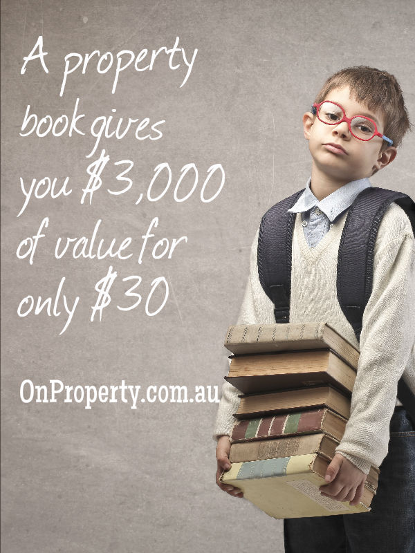 A property book gives you $3,000 of value for only $30