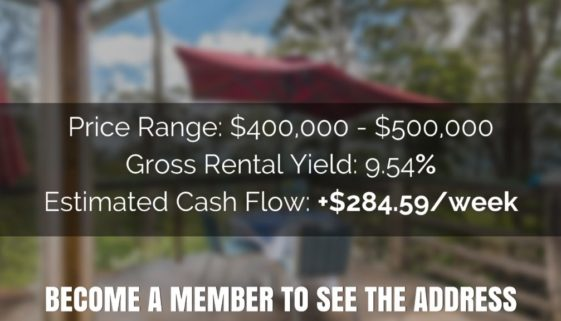 9.54% Rental Yield – House QLD