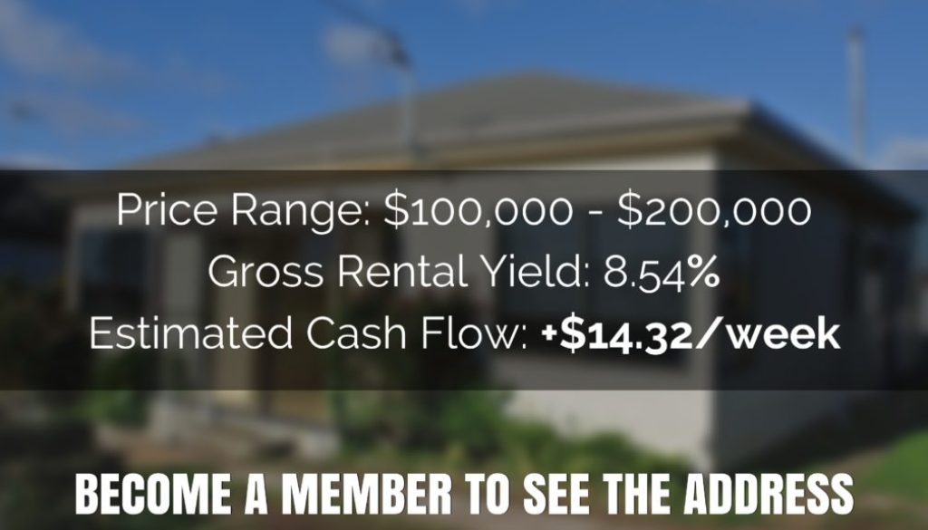 8.54% Rental Yield – House TAS