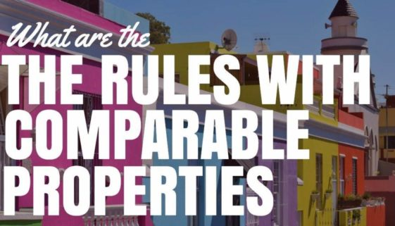 When Looking At Comparable Properties What Are The Rules?
