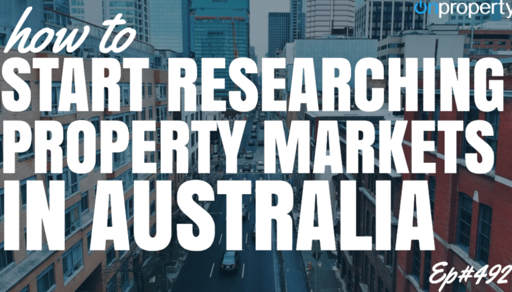 How To Start Researching Property Markets in Australia