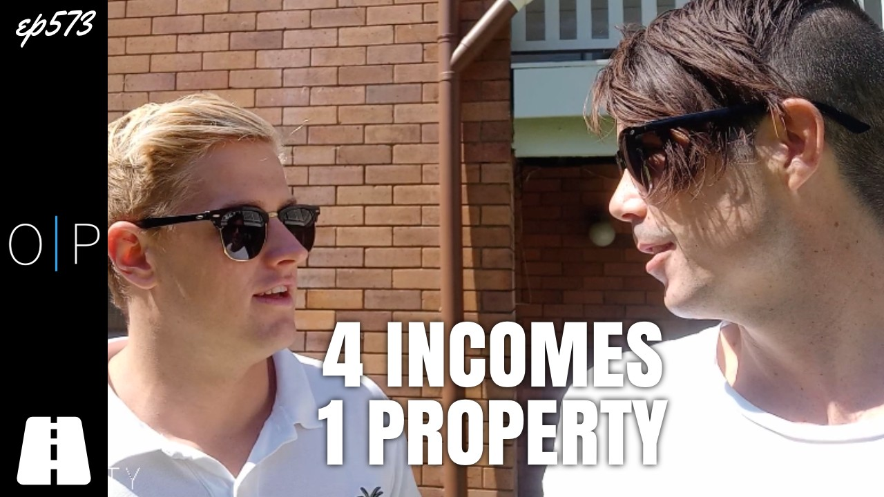Getting 4 Incomes From One Property (On The Road Ep1)