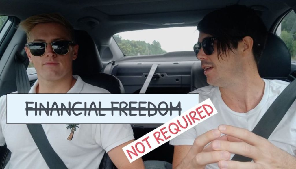 You Don't Need Financial Freedom To Live The Life You Want