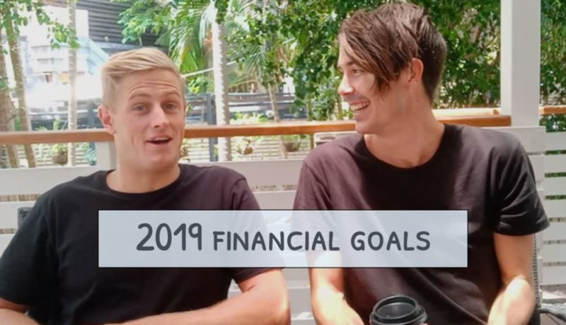 Our Financial Goals for 2019!