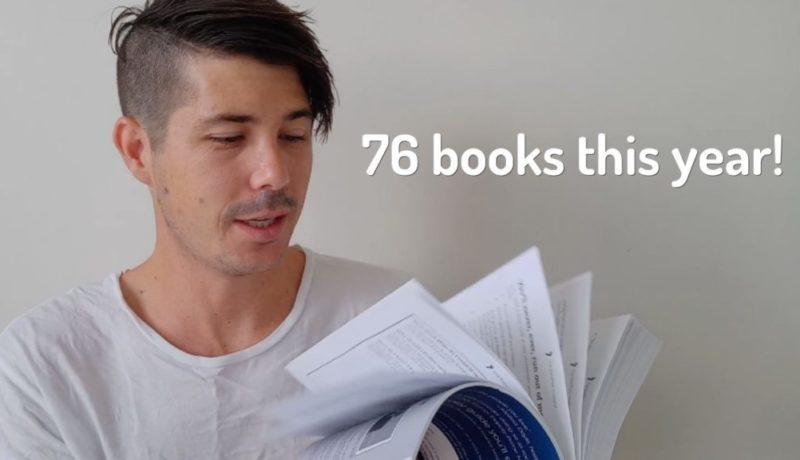 I Managed To Read 76 Books in 2018...Here's How