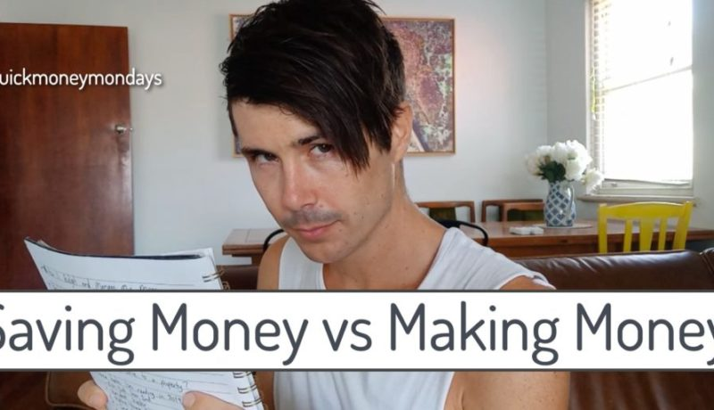 Saving Money vs Making Money: Which is Better? | Quick Money Mondays