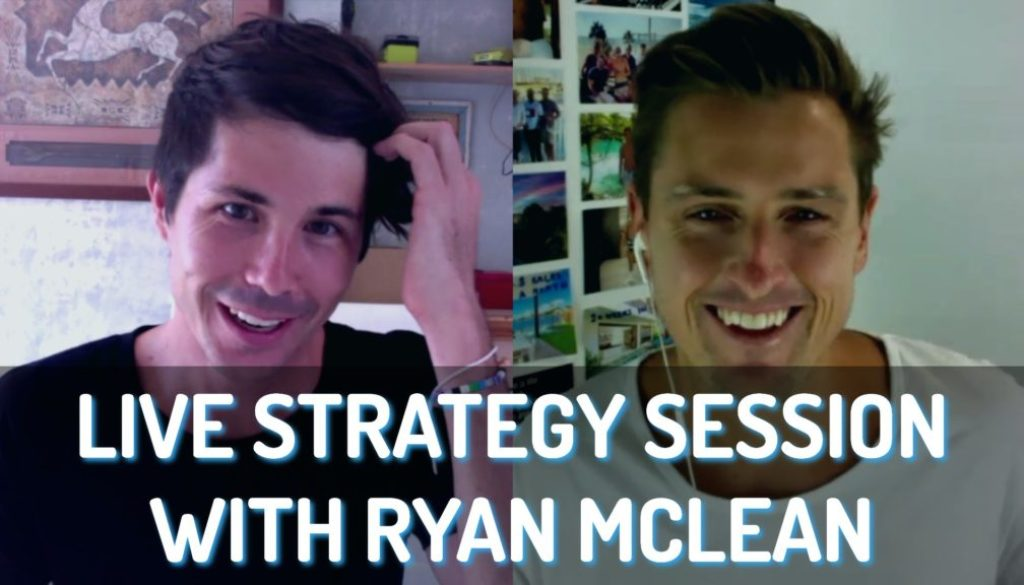 Live Strategy Session with Ryan McLean
