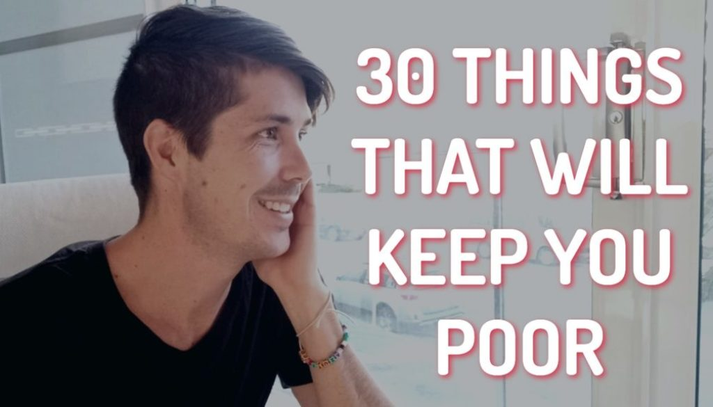 30 Behaviors That Are Keeping You Poor