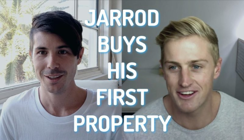 Jarrod Buy's His First Investment Property - Property Story Time