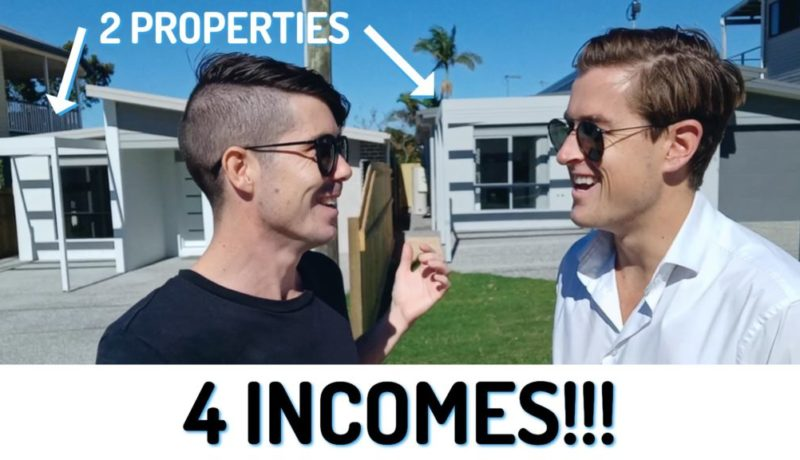 4 Incomes From 2 Properties - Creating Financial Freedom With Dual Occupancy Properties