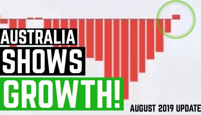 Australian Property Market Shows Growth - August 2019 Property Update