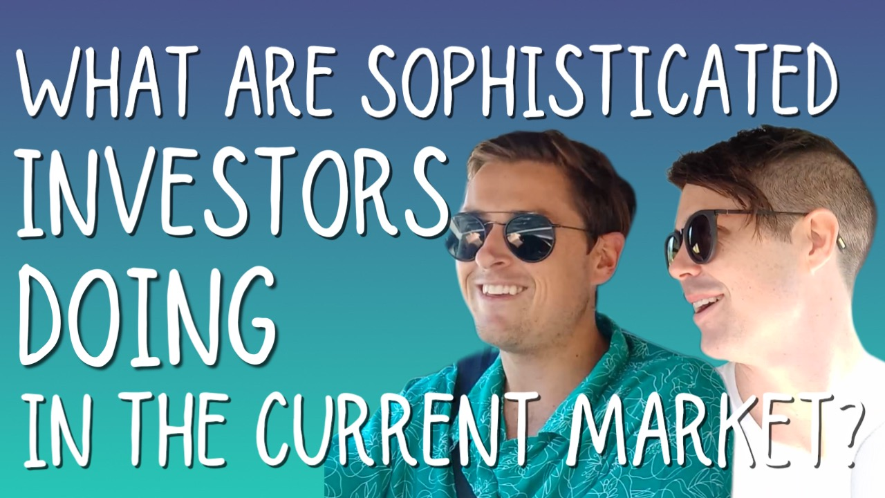 What Are Sophisticated Investors Doing In The Current Market?
