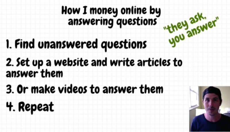 How I Make Money Online Answering Questions