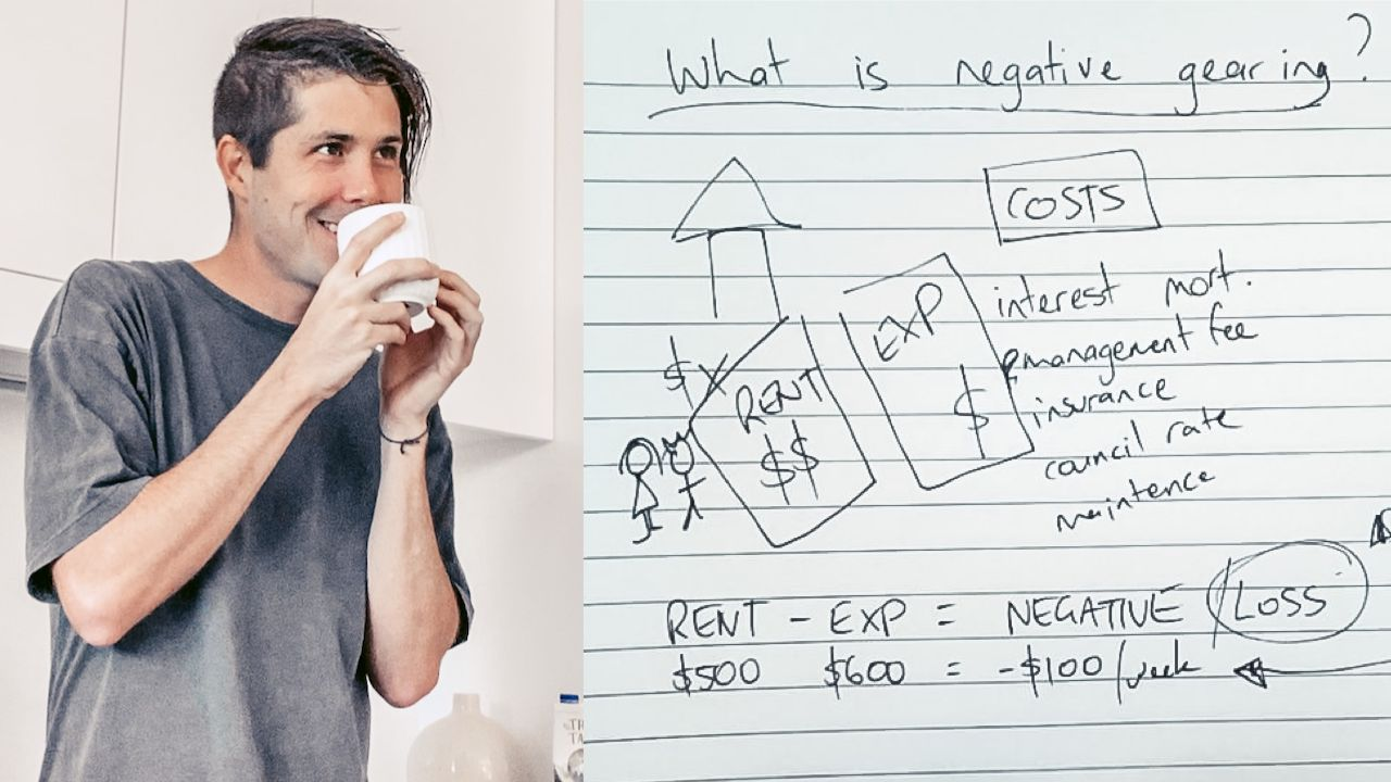Negative Gearing Explained Simply (with Pen and Paper)