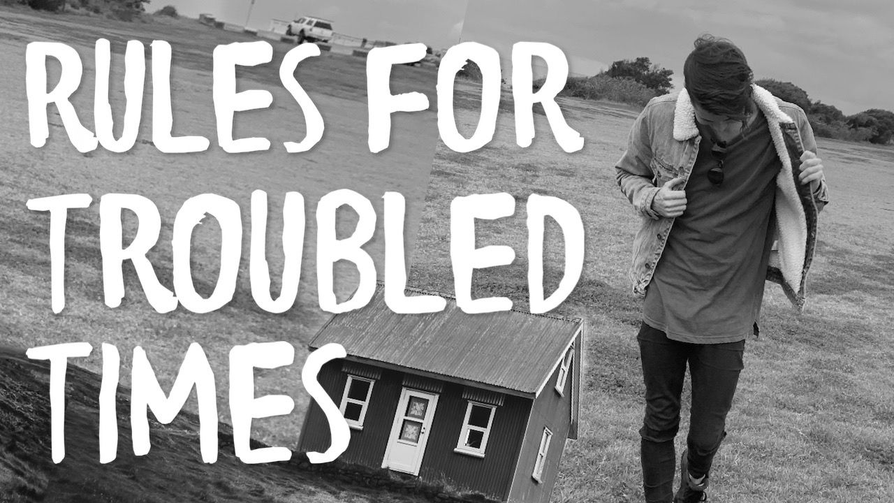 Property Investment Rules For Troubled Times