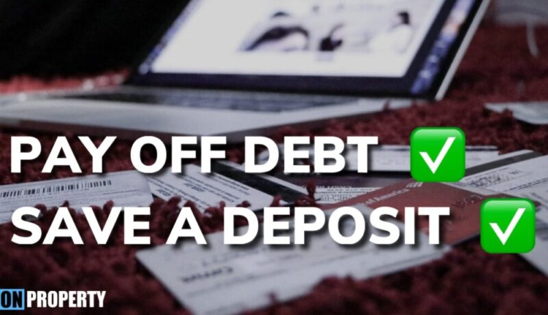 How To Pay Off Debt & Save a Deposit