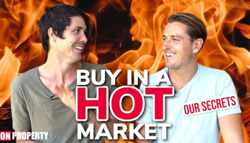 Secrets To Buying Property In a Hot Market